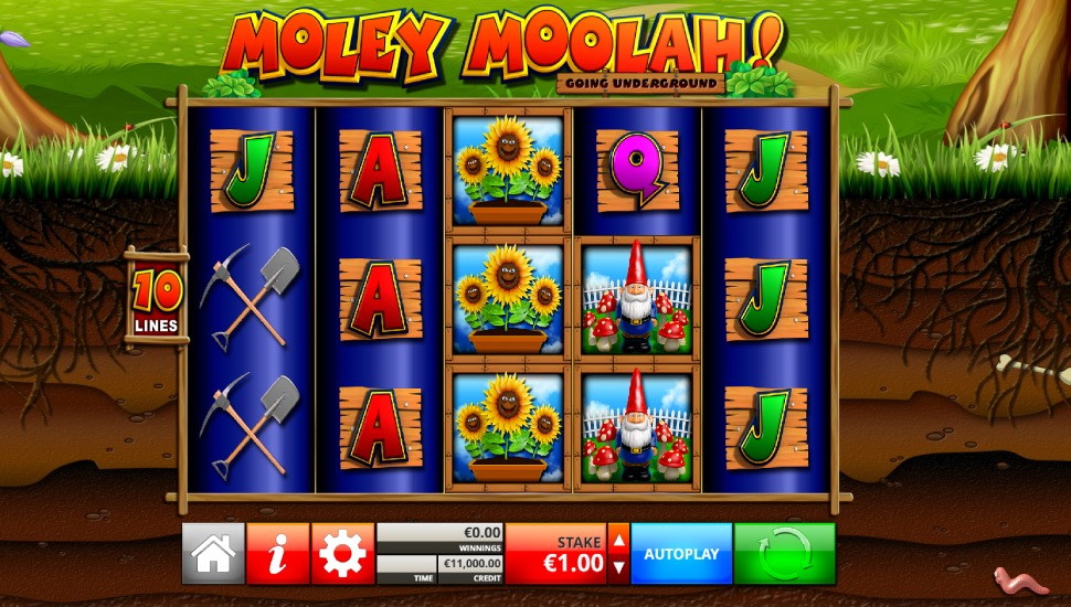 Moley Moolah - Slot