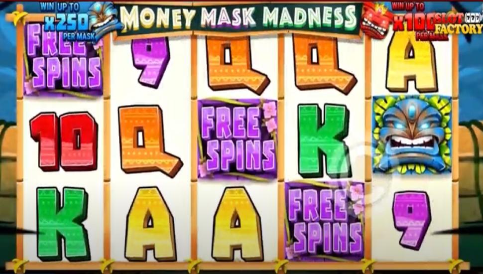 Money Mask Madness - Bonus Features