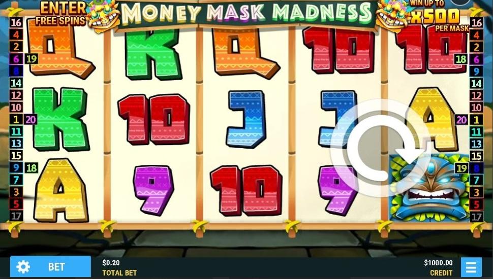 Money Mask Madness - Slot