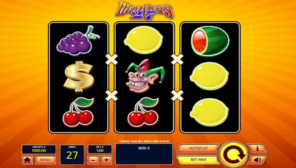 Monkey 27 - Slot