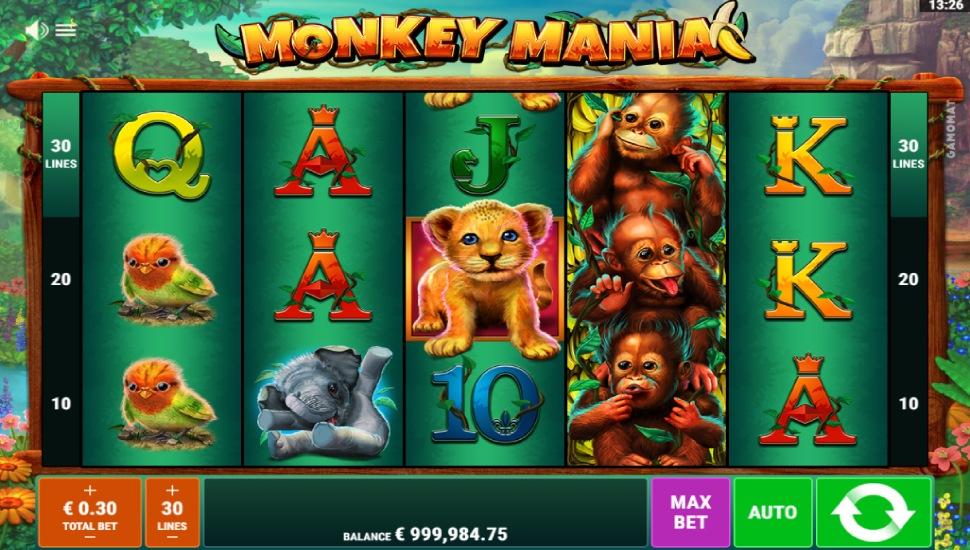 Monkey Mania - Bonus Features