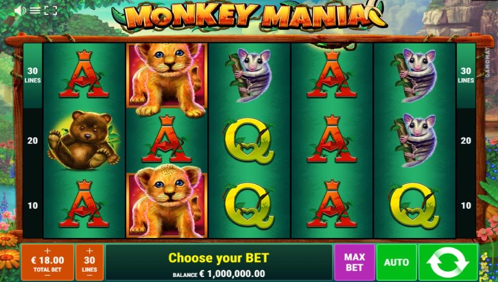 Monkey Mania - Slot