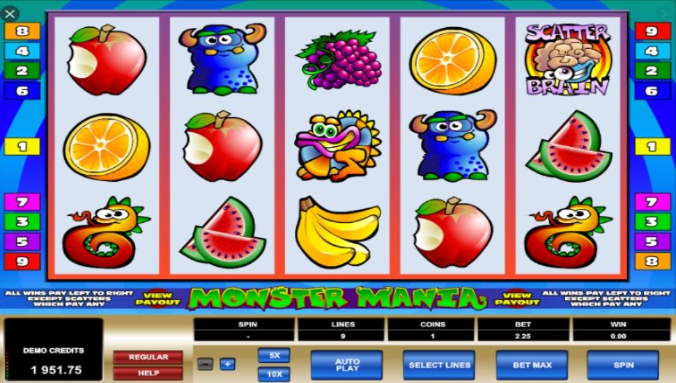 Monster Mania - Slot