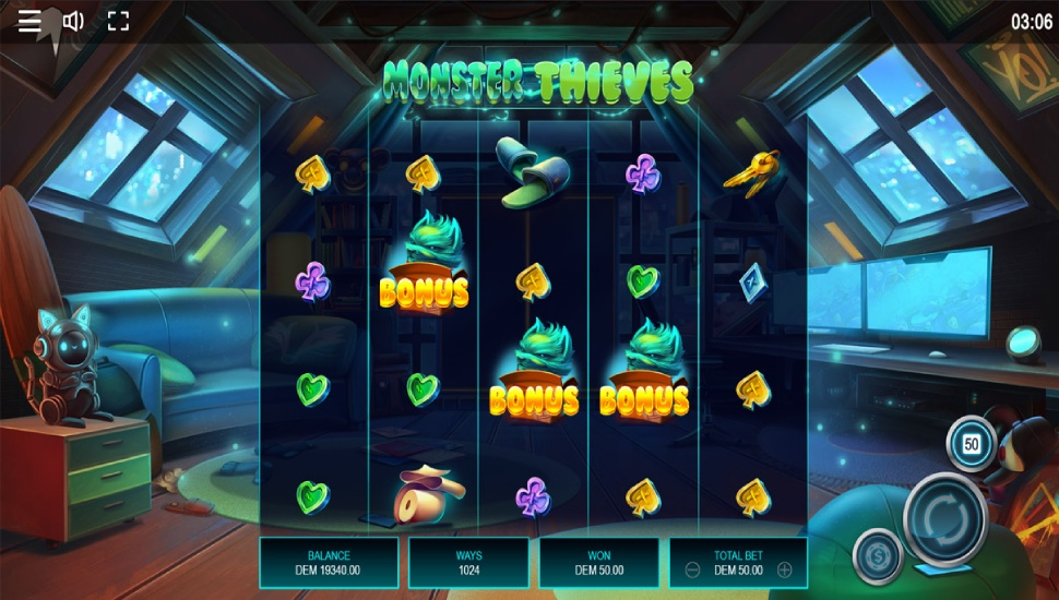 Monster thieves - Bonus Features
