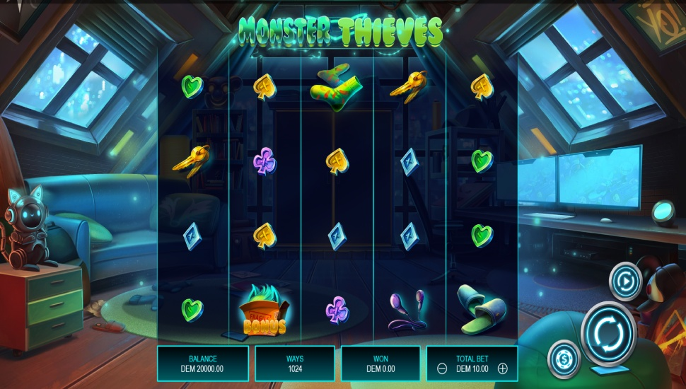 Monster Thieves - Slot