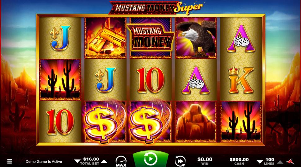 Mustang Money Super - Slot