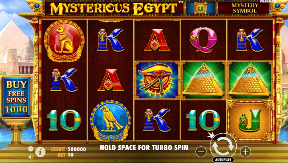 Mysterious Egypt - Slot