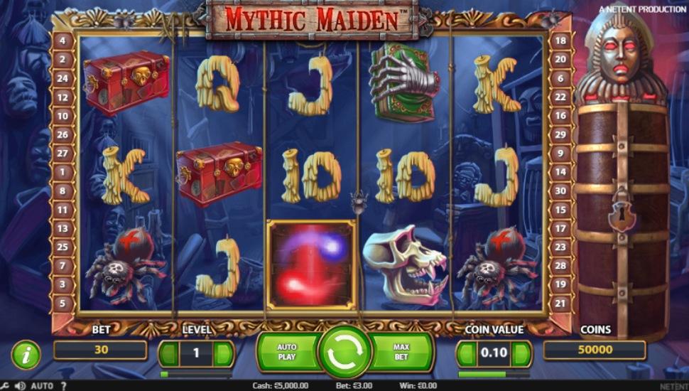 Mythic Maiden - Slot