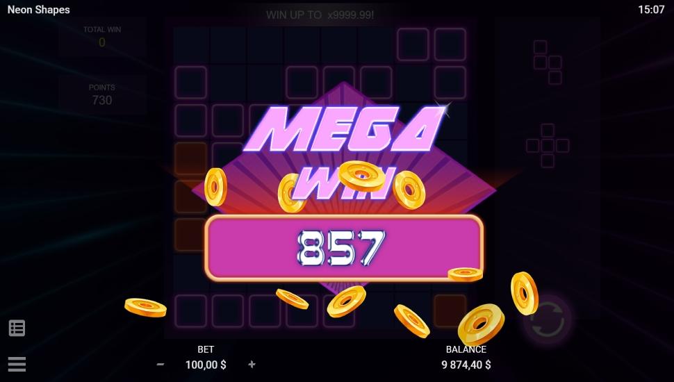 Neon shapes - Slot