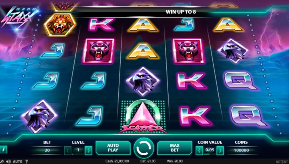 Neon Staxx  - Slot
