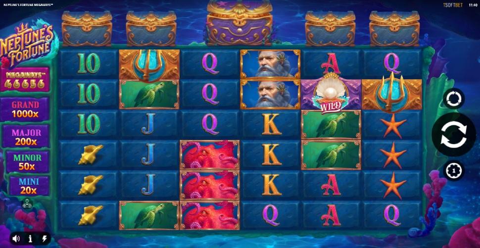 Neptune's Fortune Megaways - Slot