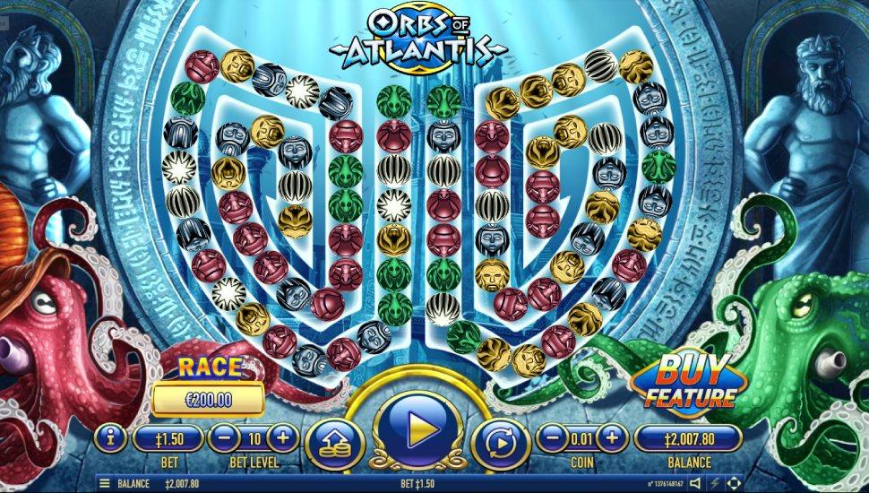 Orbs of Atlantis - Slot