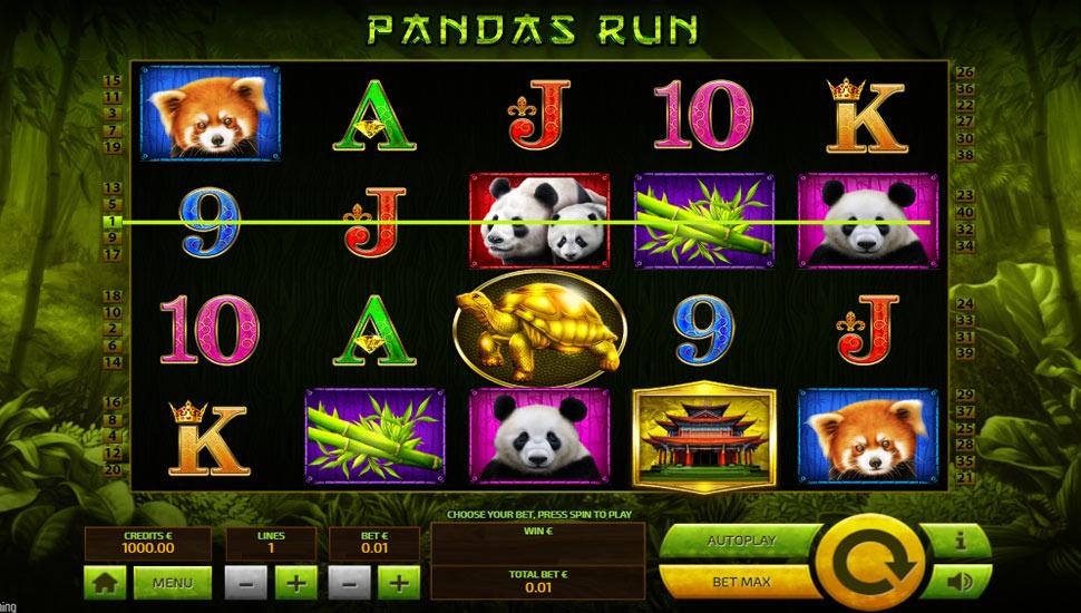 Panda's Run - slot