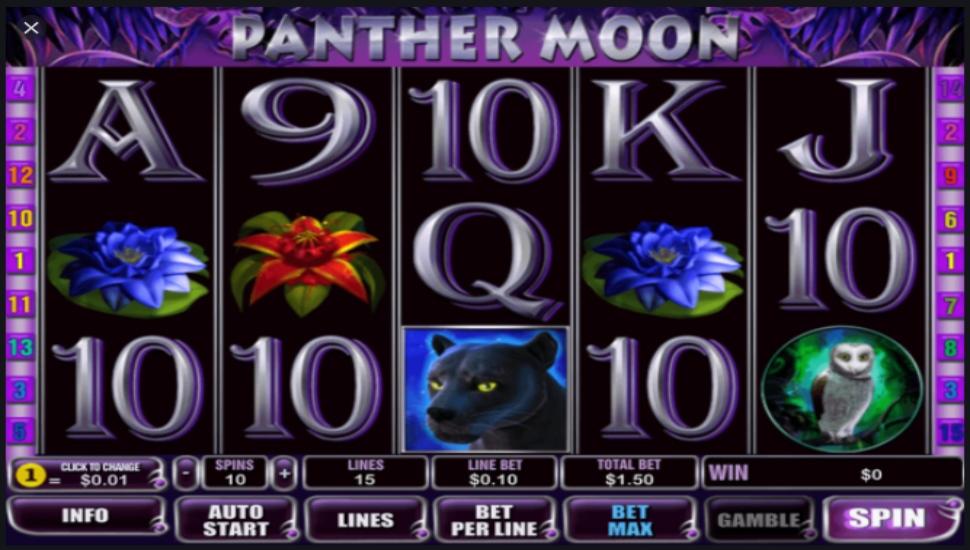Panther Moon - Slot