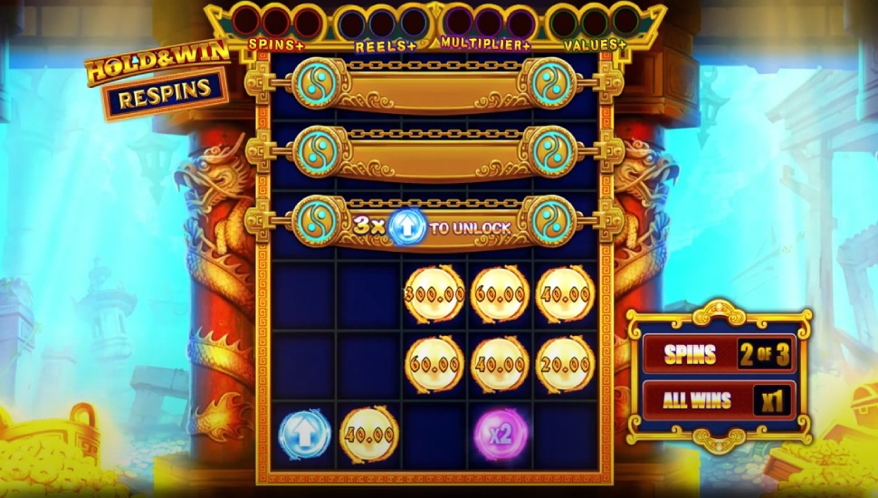Pearl Legend: Hold & Win - Bonus Features
