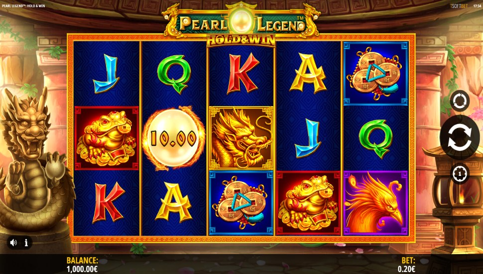 Pearl Legend: Hold & Win - Slot