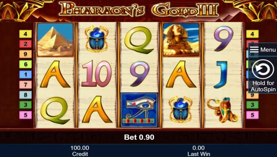 Pharaoh's Gold III - Slot