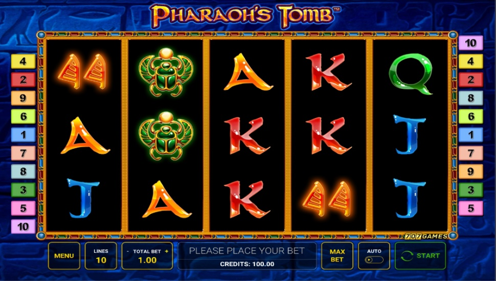 Pharaoh's Tomb - Slot