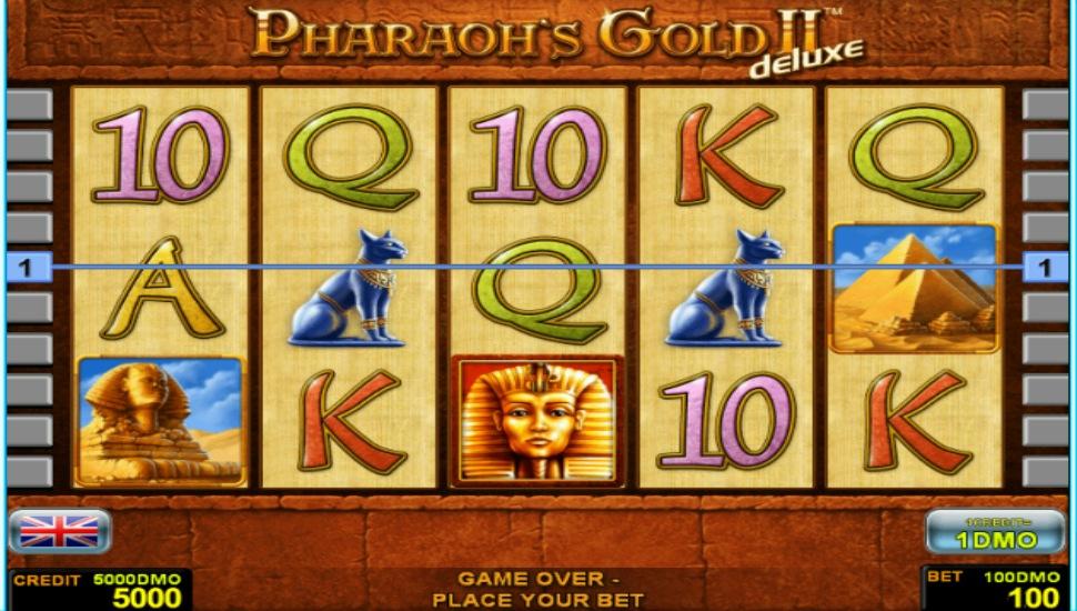 Pharaohs Gold II Deluxe - Slot