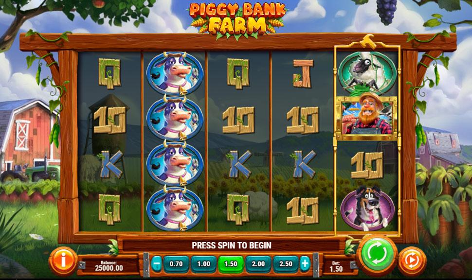 Piggy Bank Farm - Slot