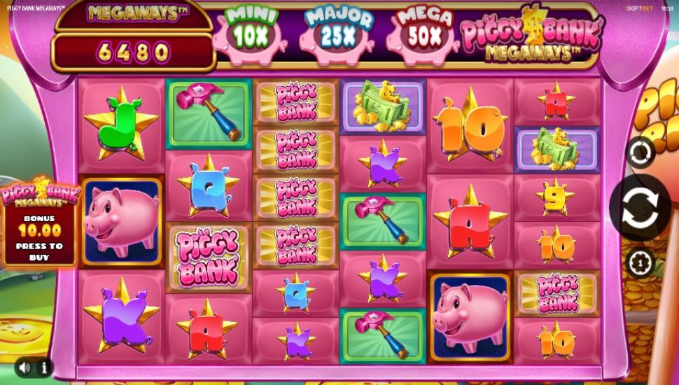 Piggy Bank Megaways - Slot