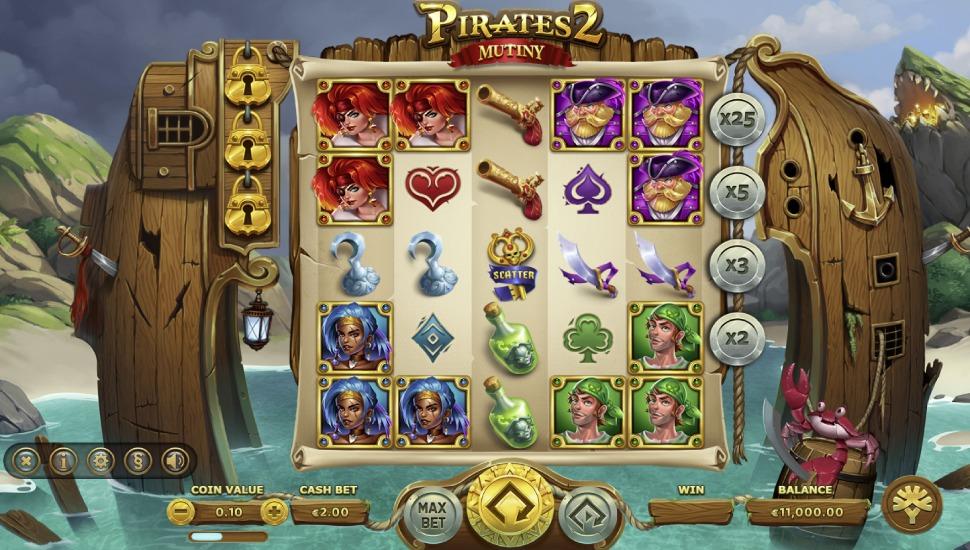 Pirates 2 Mutiny - Slot