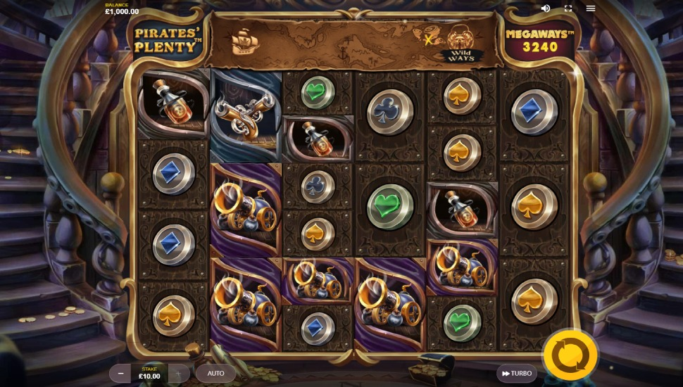 Pirates' Plenty Megaways - Slot