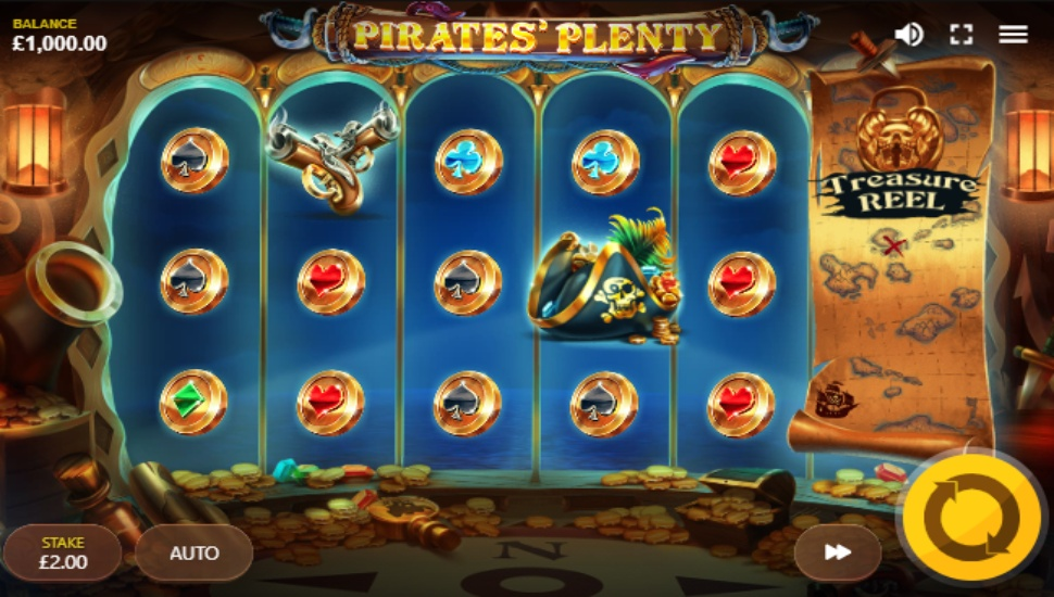 Pirates Plenty - Slot