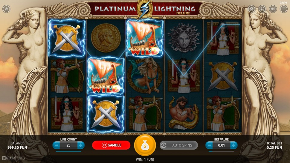 Platinum Lightning Deluxe - slot