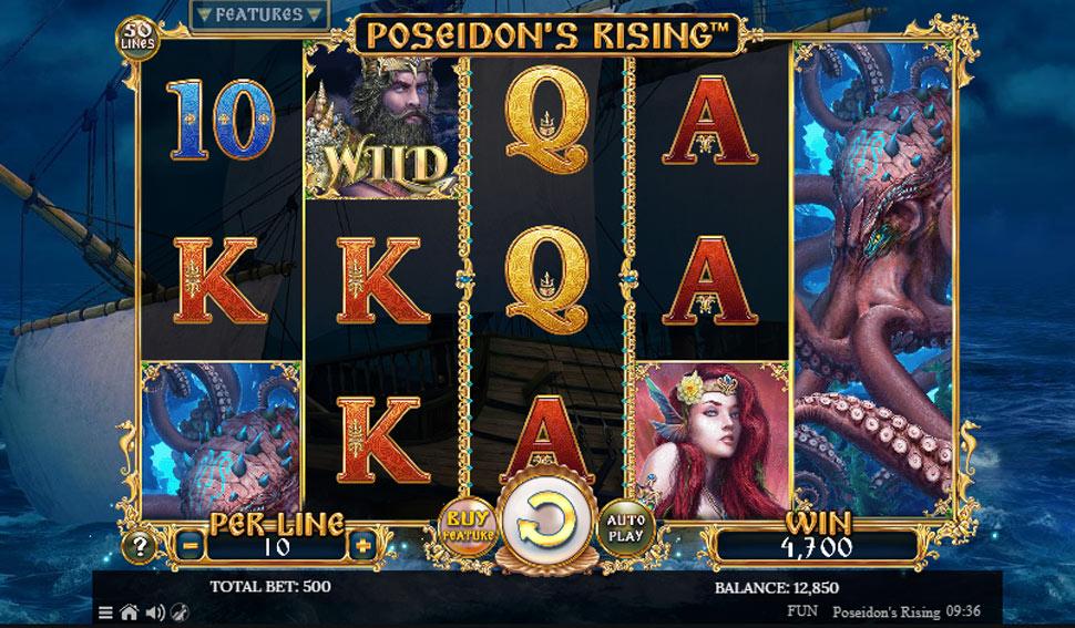 Poseidon's Rising - Slot