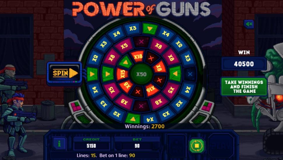 Power Of Guns - Bonus Features