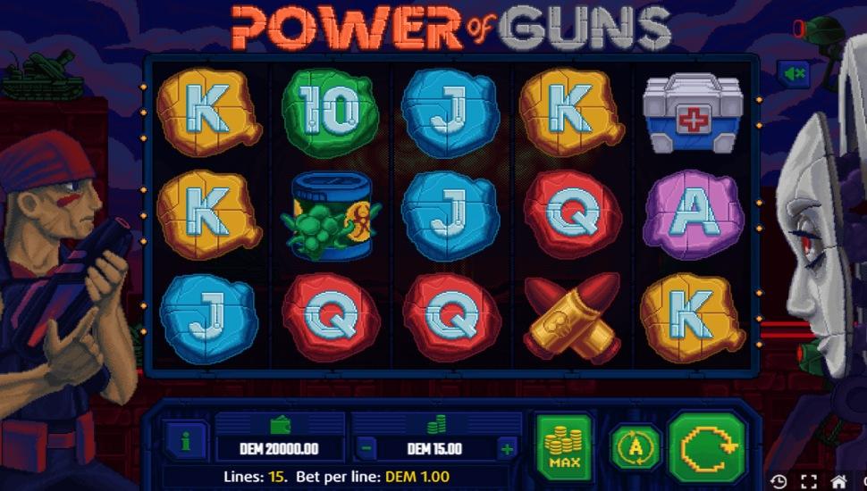 Power Of Guns - Slot