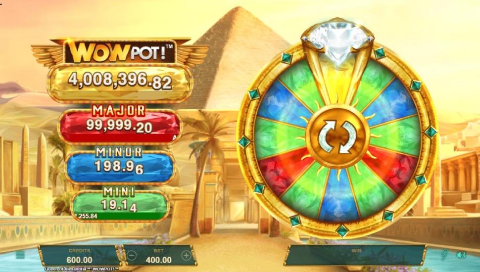 Queen of Alexandria WOWPOT! - Bonus Features