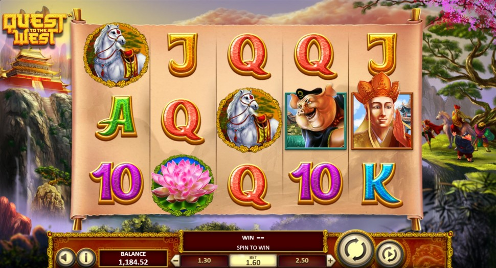 Quest to the West - Slot