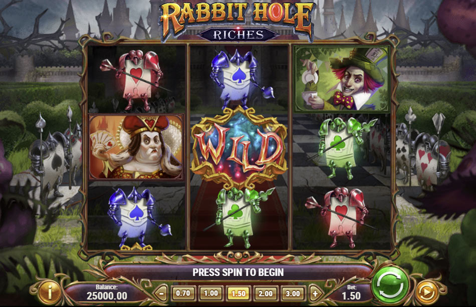 Rabbit-Hole-Riches-Slot