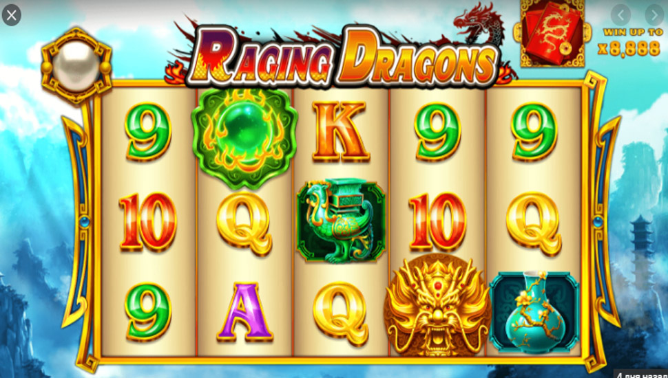 Raging Dragons - Slot