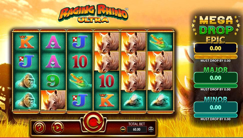 Raging Rhino Ultra - Slot