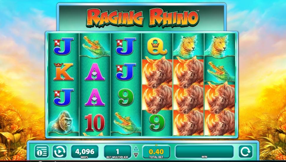 Raging Rhino - Slot