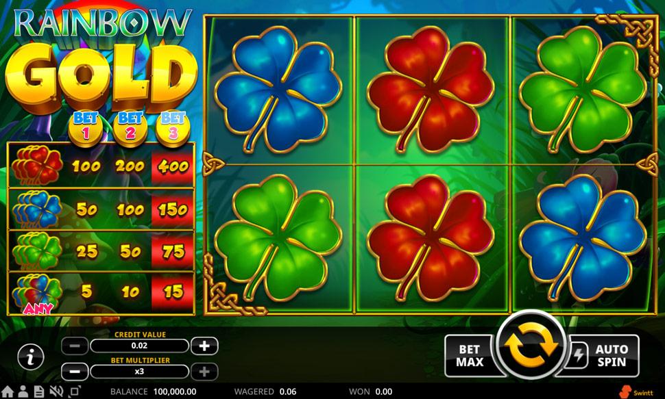 Rainbow Gold - Slot