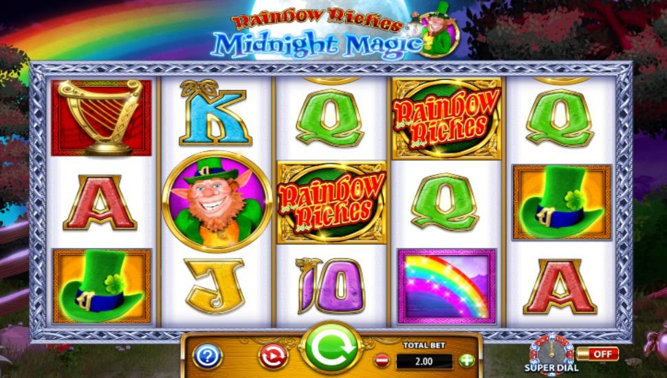 Rainbow Riches Midnight Magic - Slot