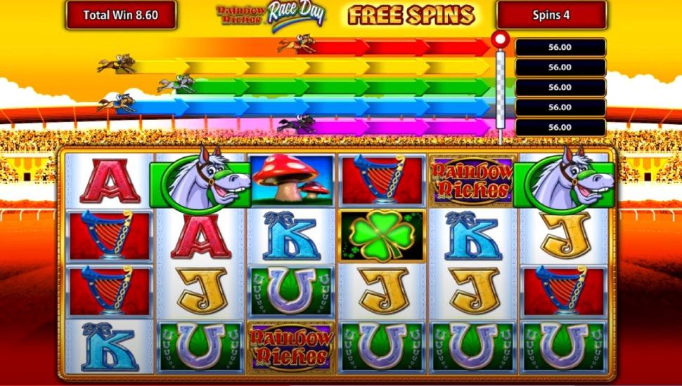 Rainbow Riches Race Day - Bonus Features