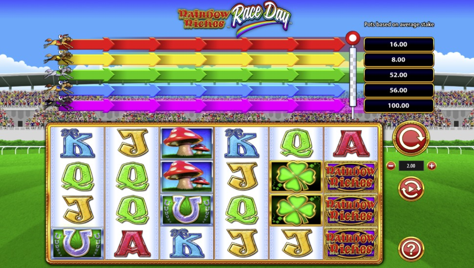 Rainbow Riches Race Day - Slot