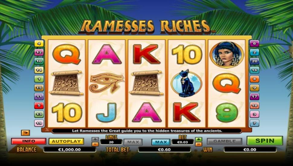Ramesses Riches - Slot