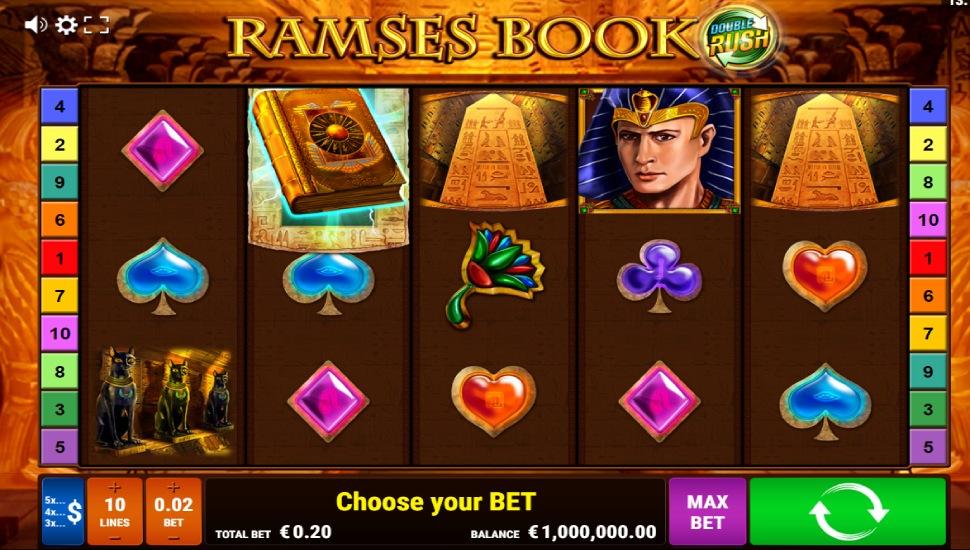 Ramses Book Double Rush - Slot