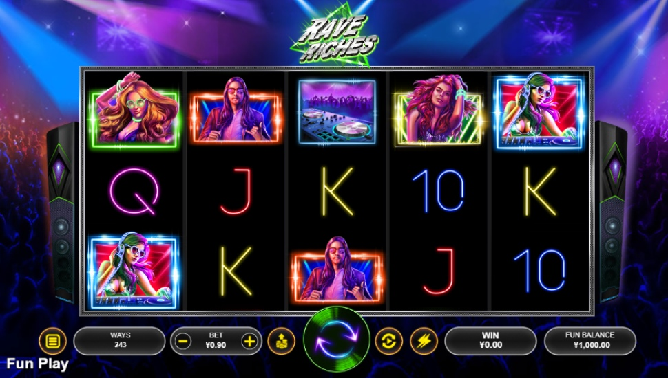 Rave Riches - Slot