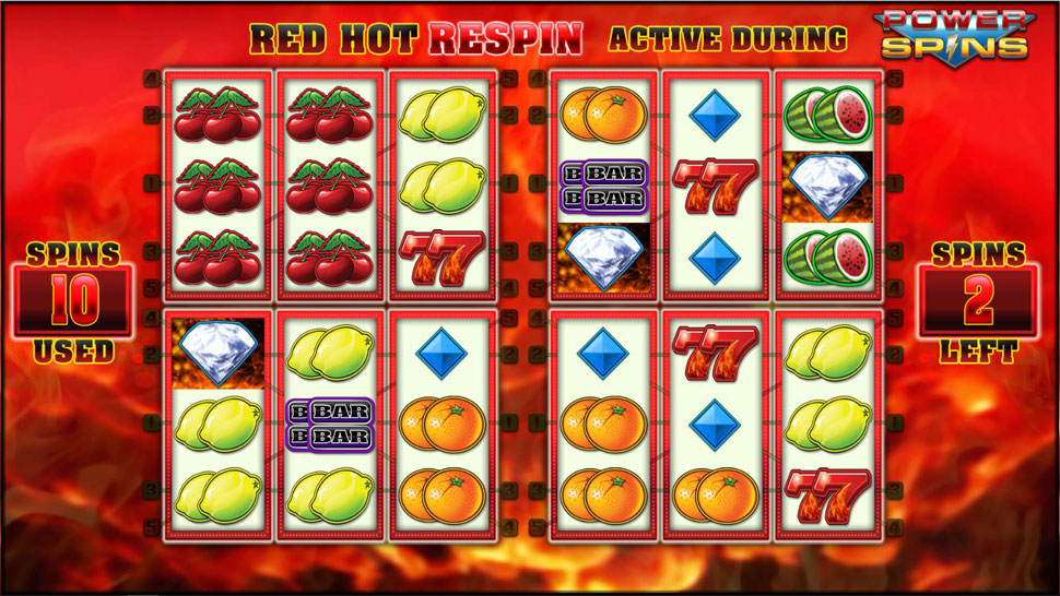 Red Hot Repeater Power Spins - Slot
