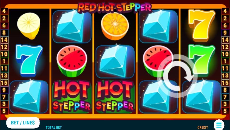 Red Hot Stepper - Slot