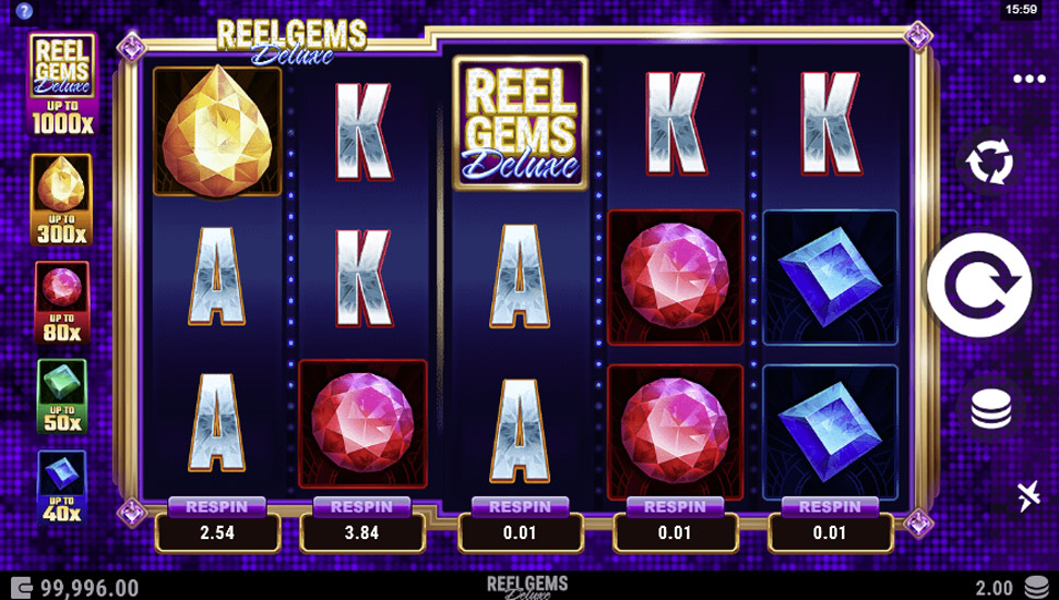 Reel Gems Deluxe - slot