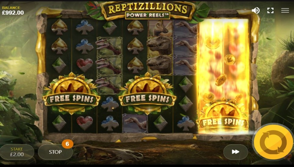 Reptizillions Power Reels - Bonus Features