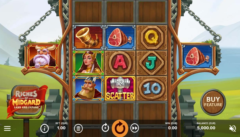 Riches of Midgard: Land and Expand - Slot